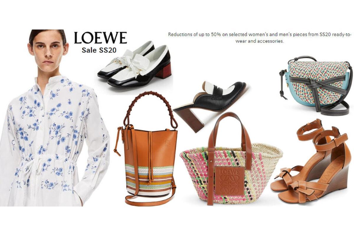 Ancora Saldi su InVoga Magazine con le promozioni di Loewe