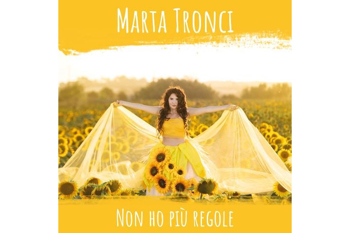 L'esordio discografico di Marta Tronci tra sogni e desiderio di libertà
