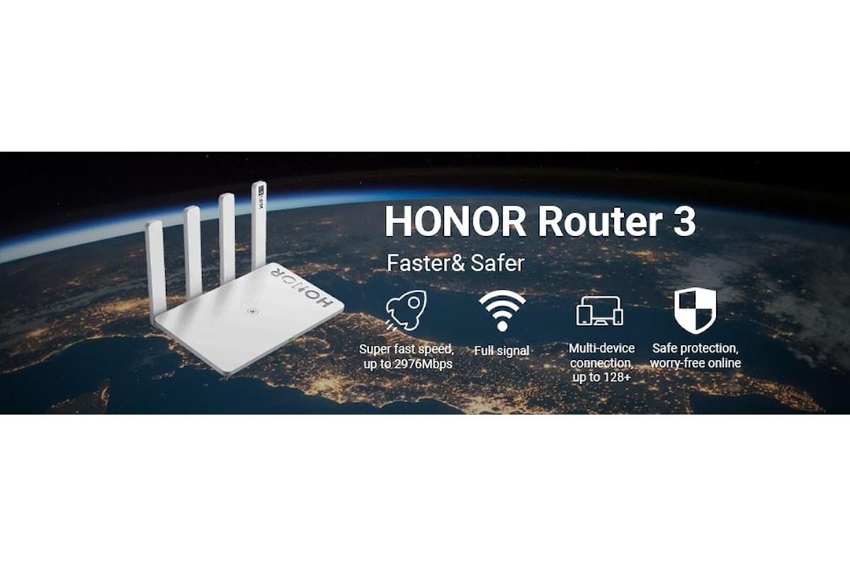 HONOR Router 3: recensione del router che supporta il Wi-Fi 6 Plus e che viene proposto con un'offerta interessantissima