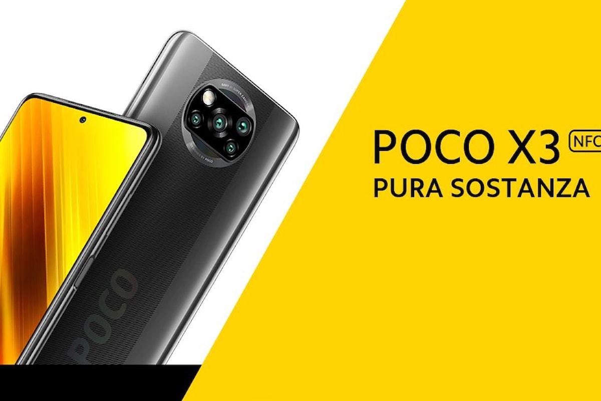 POCO X3 NFC è stato presentato ufficialmente: lo smartphone migliore nella sua fascia di prezzo