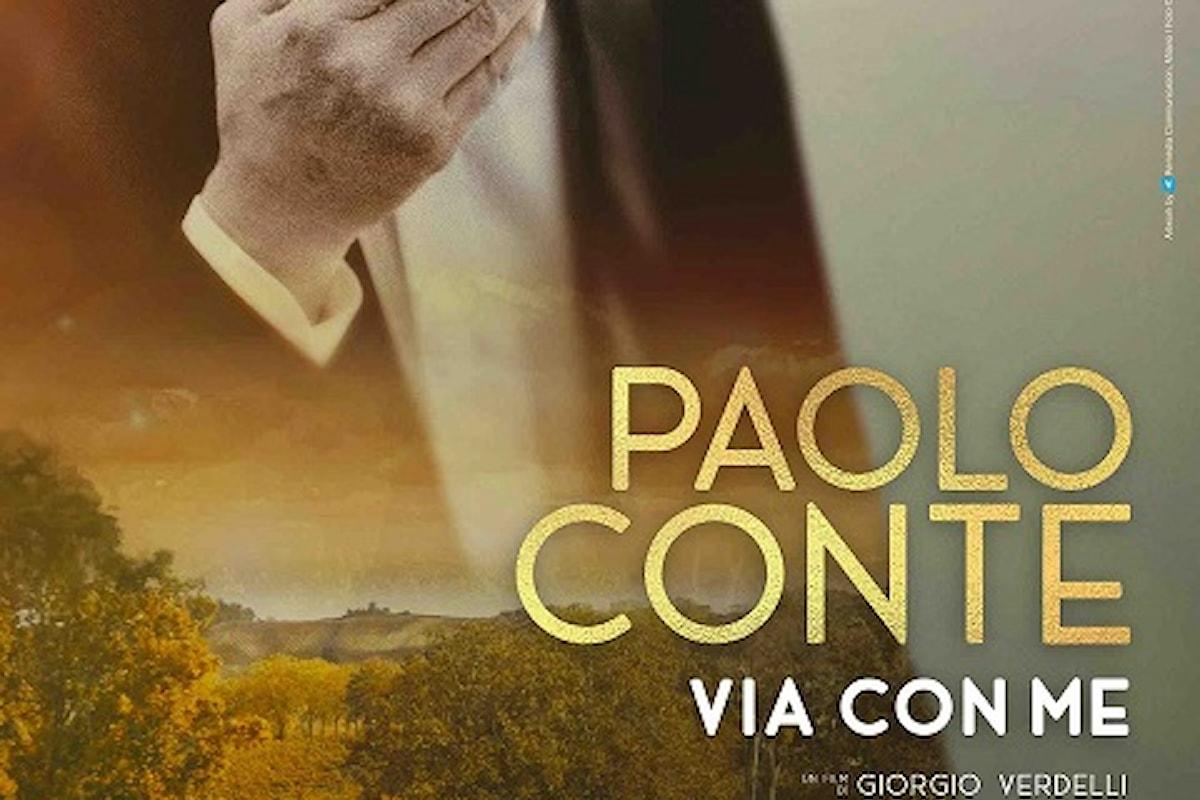 Paolo Conte, Via con me nelle sale italiane solo il 28, 29, 30 settembre