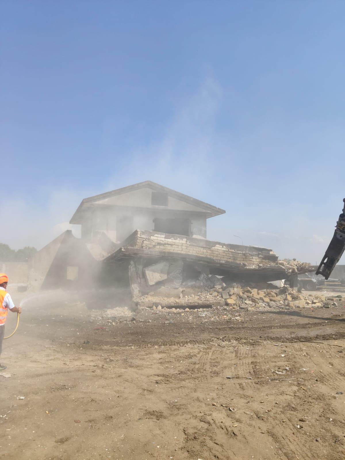 A Caivano (Na), dopo venti anni è stata abbattuta la villa del clan Moccia