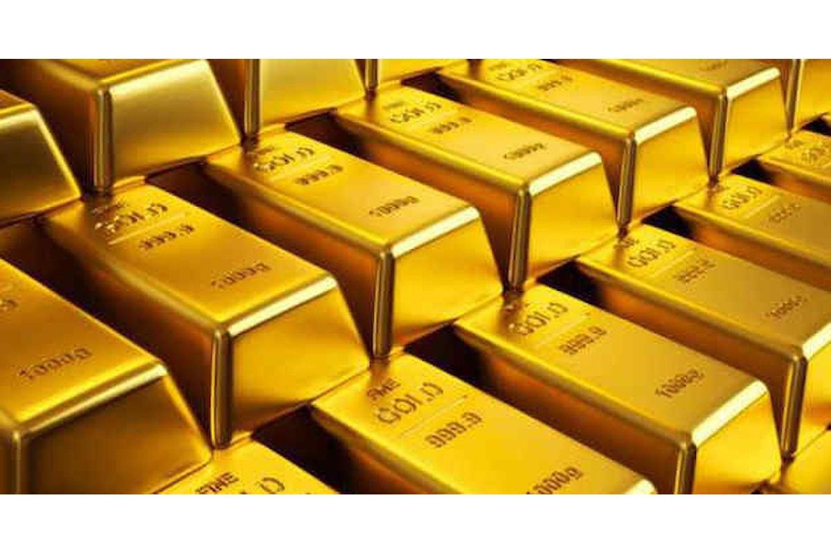 Mercati, l'oro continua a scivolare dopo la folle corsa degli ultimi mesi