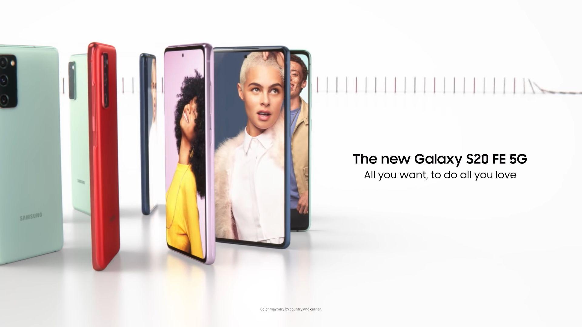 Samsung Galaxy S20 FE 5G e Galaxy S20 FE sono stati presentati ufficialmente: i Galaxy S20 colorati e low-cost