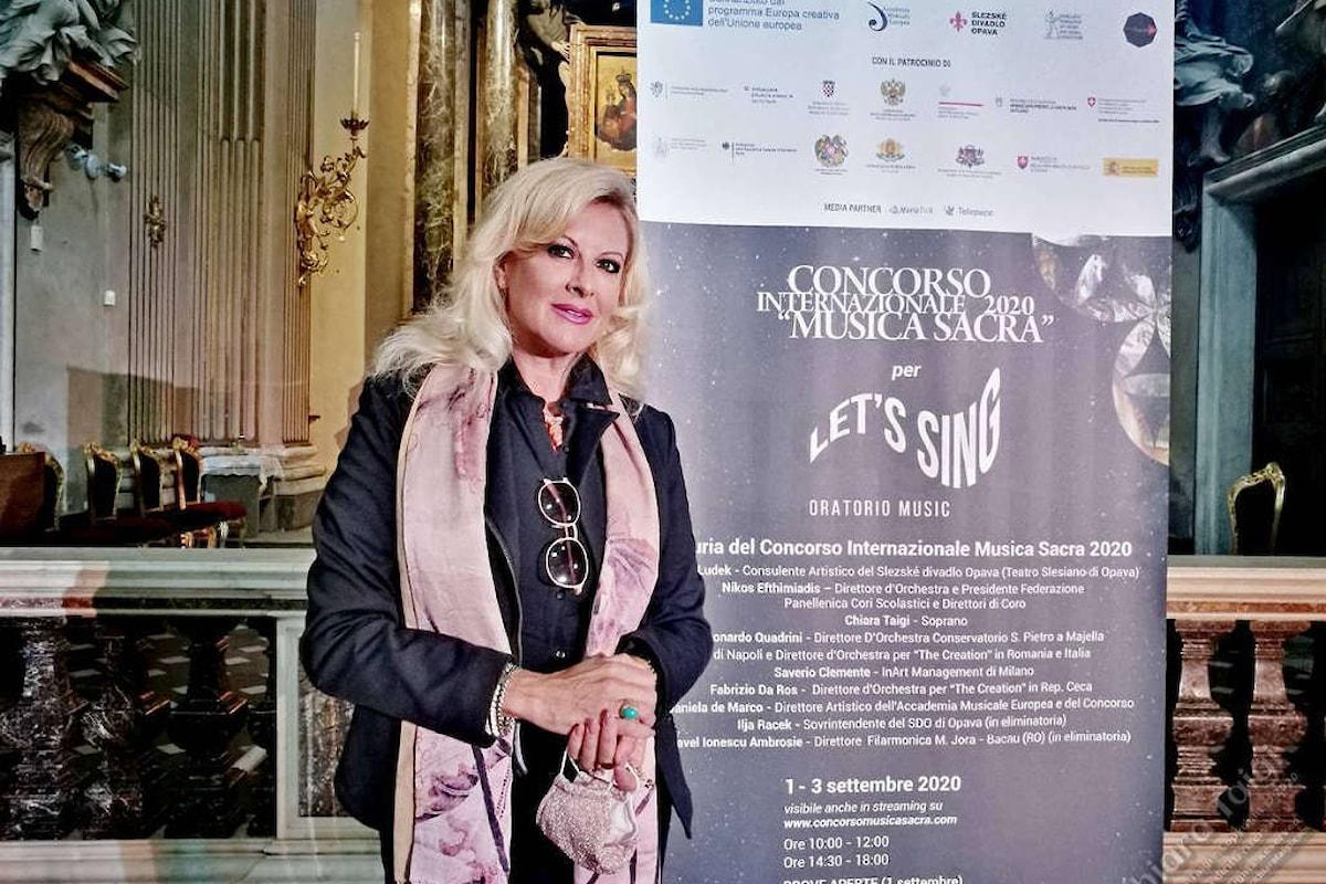 CHIARA TAIGI - Partecipazione straordinaria in Giuria al Concorso Internazionale Musica Sacra 2020 - XV edizione. Roma 1-4 settembre 2020
