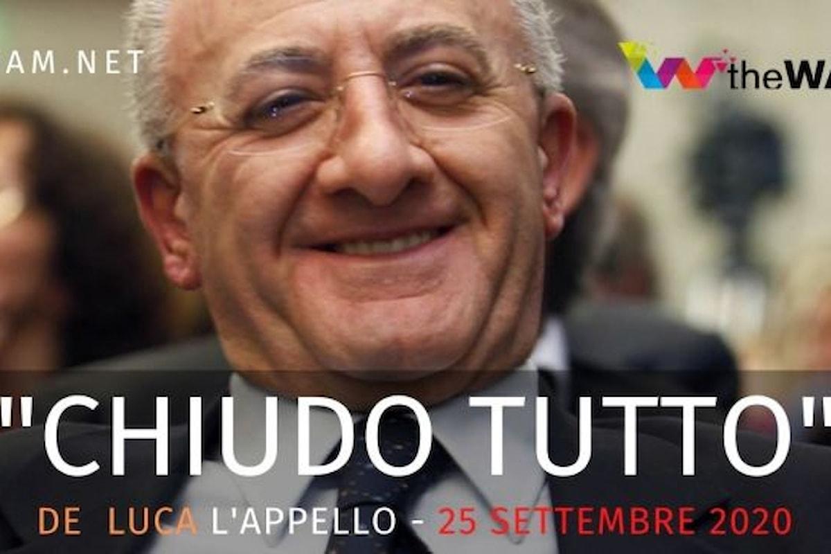 Nuovo lockdown in Campania? Le Associazioni rispediscono al mittente la minaccia