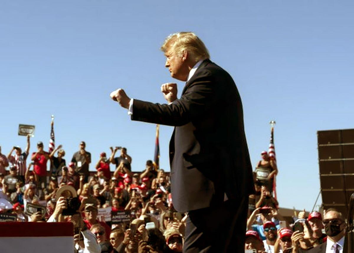 La paradossale campagna elettorale del paradossale Trump