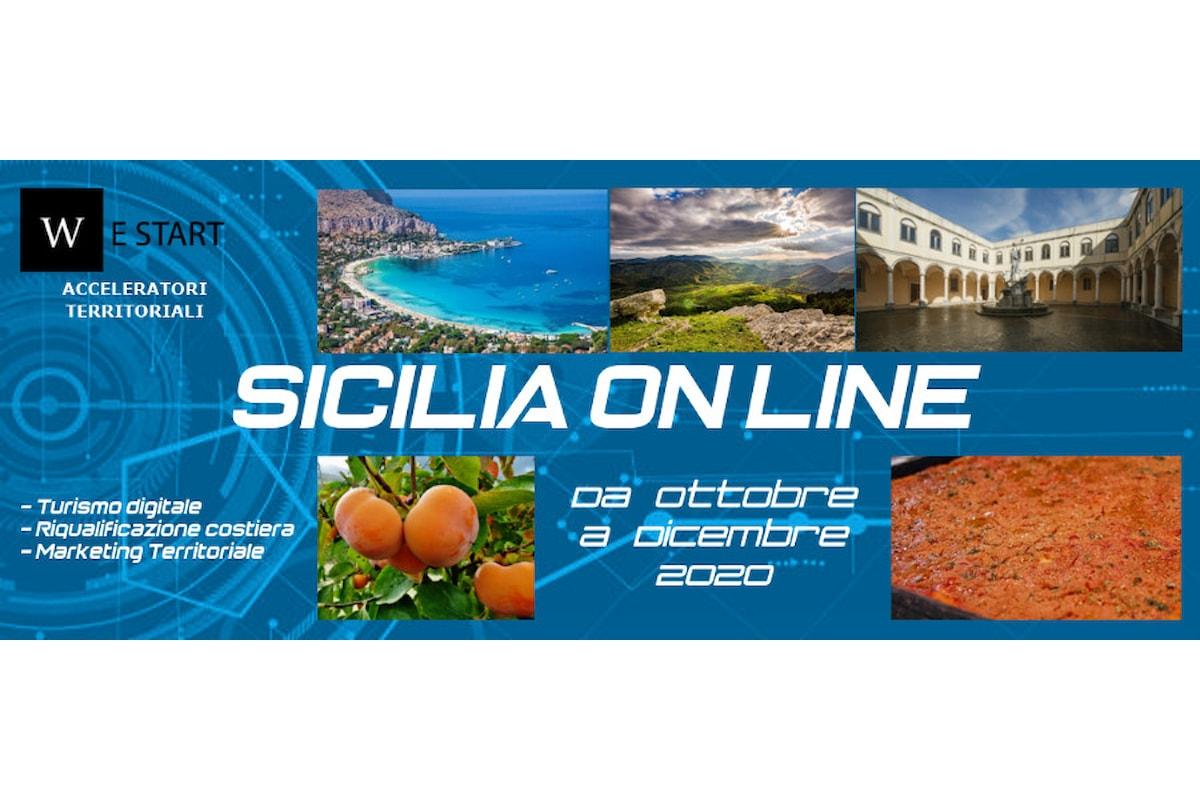 """""""Sicilia On Line"""", programmazione delle nuove attività di We Start"""