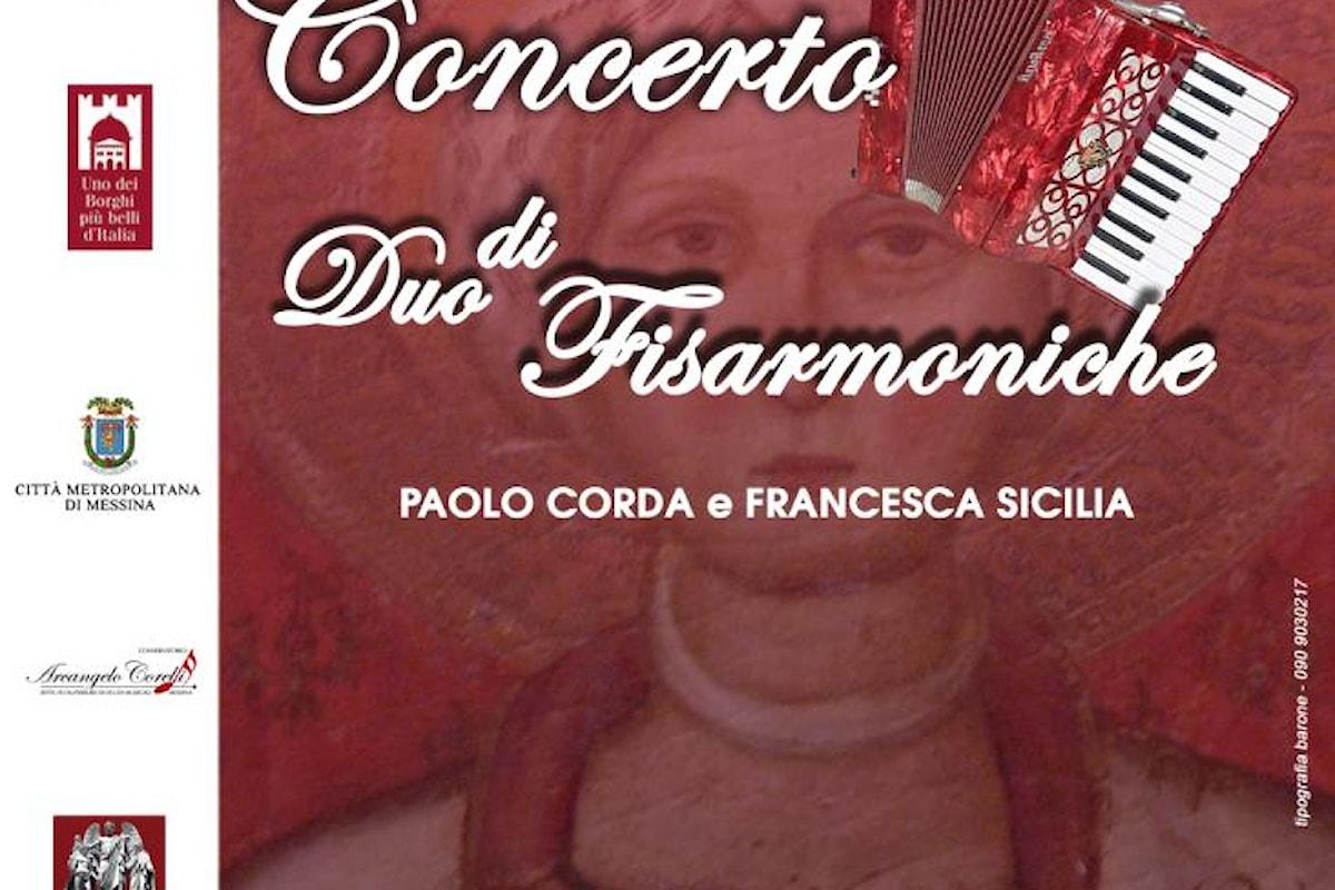 """Castroreale (ME) - Concerto """"Duo di Fisarmoniche"""""""