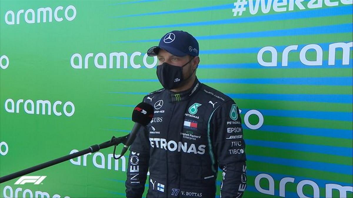 Formula 1, va a Bottas la pole del Nurburgring per il GP di Eifel
