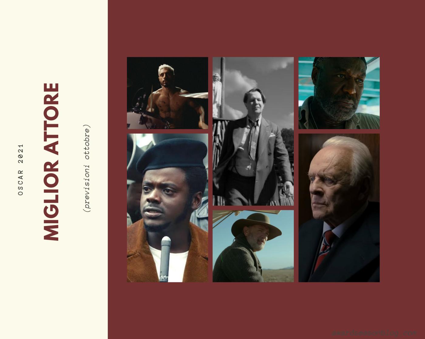 Oscar 2021: quali sono i 12 migliori attori che possono ambire ad una nomination?