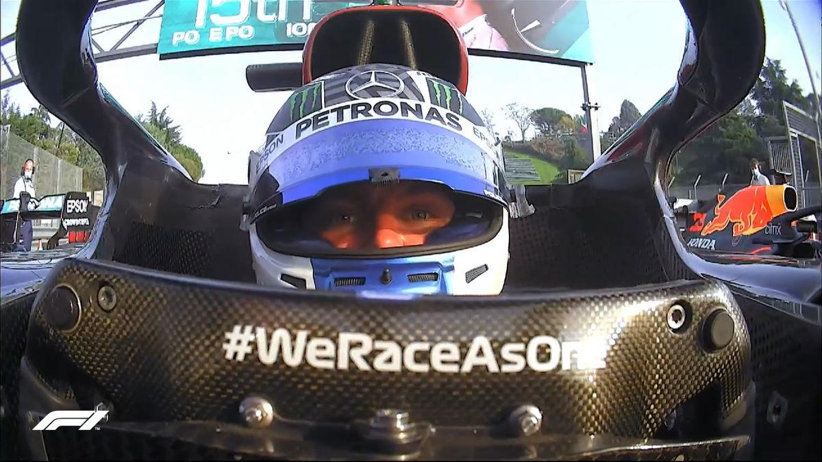 Formula 1, a Bottas la pole del GP dell'Emilia Romagna