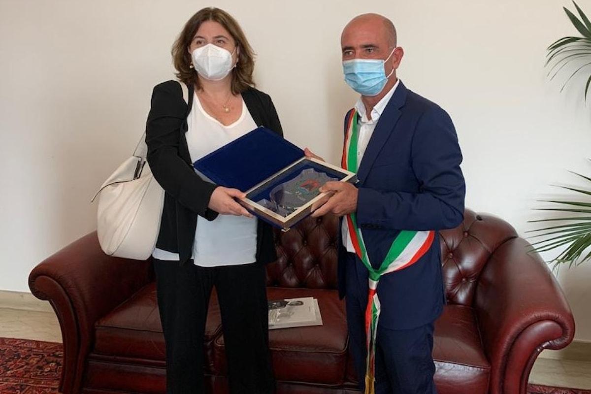 Milazzo (ME) - Visita istituzionale del Ministro del Lavoro Catalfo