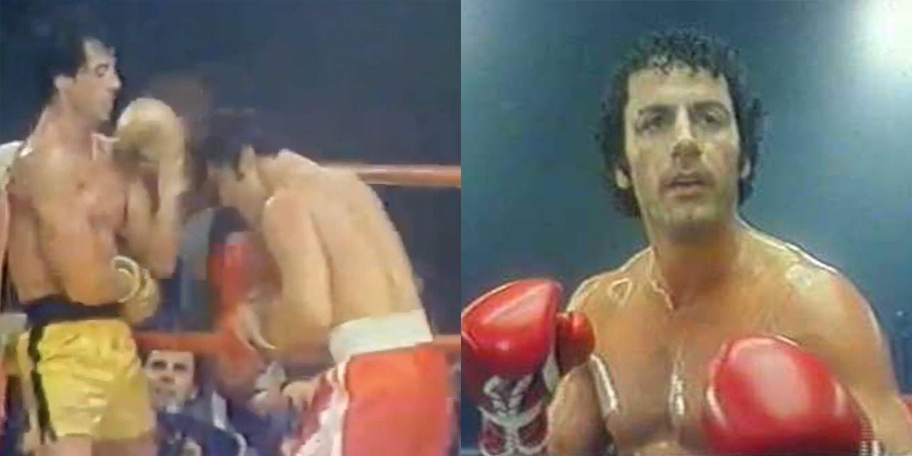 Sylvester Stallone e il fratello Frank combattono in Rocky 3 in un raro video