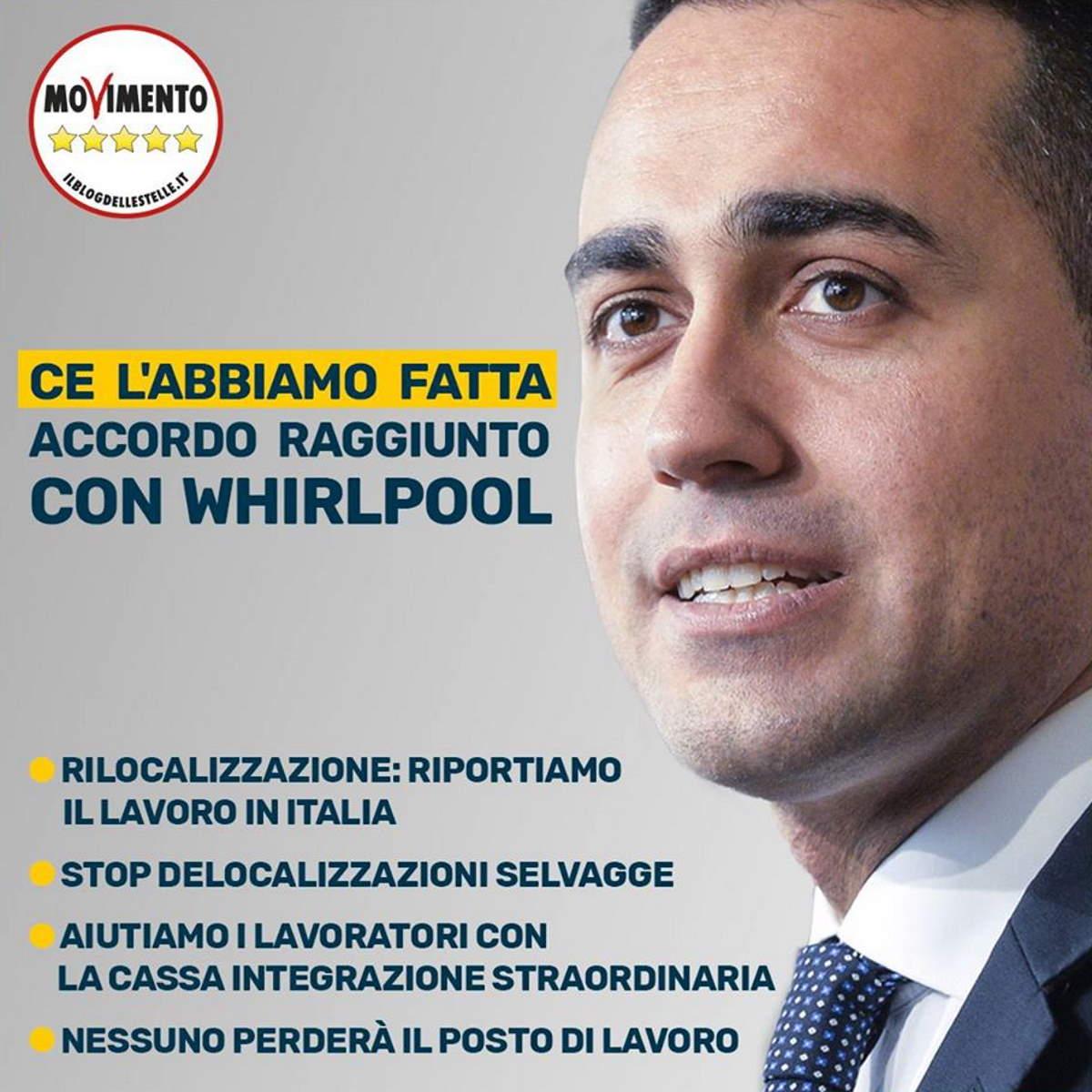 Chiude lo stabilimento della Whirlpool a Napoli