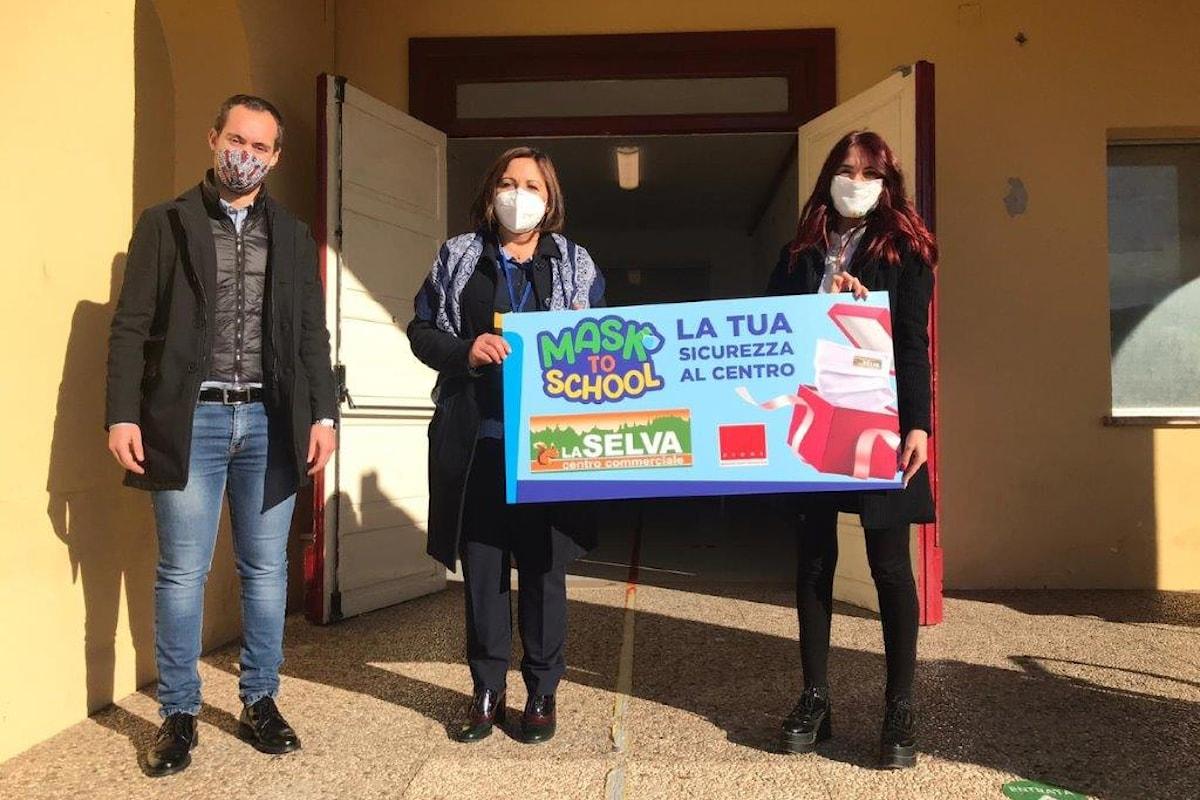 """""""MASK TO SCHOOL"""" - A Sora grande successo per l'iniziativa sociale per i bambini del territorio e le loro famiglie"""
