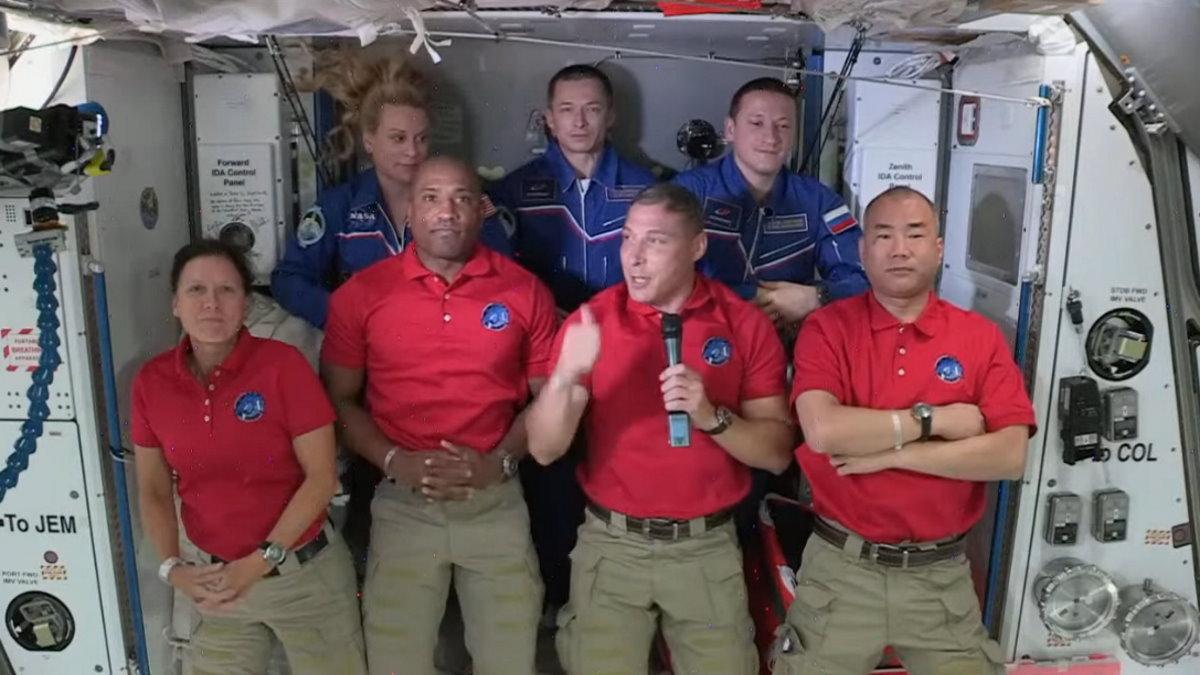 L'attracco della Crew-1 alla ISS