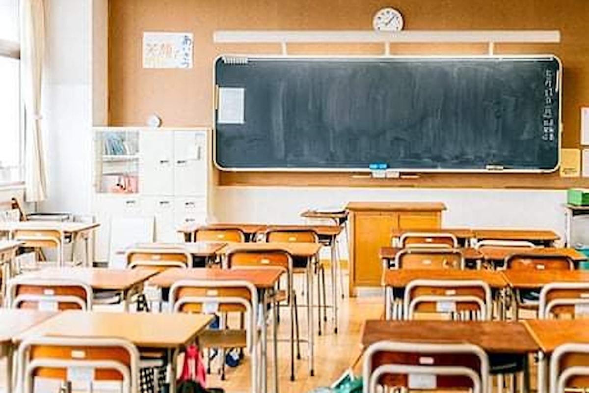 Campania scuola: prorogata la chiusura fino al 23 novembre