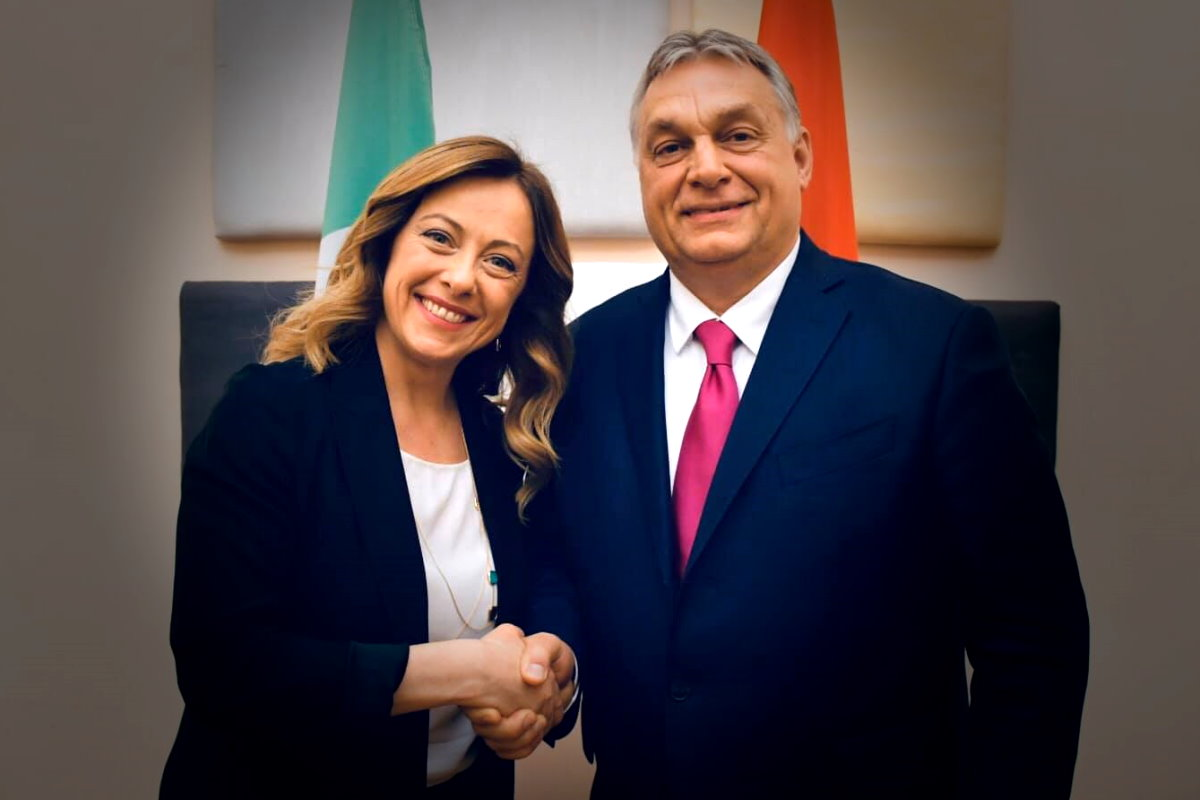 Meloni: Orban ha sempre e comunque ragione perché difende le radici classiche e cristiane d'Europa