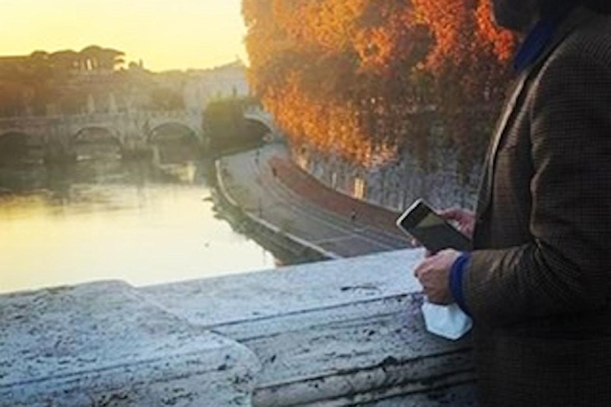 Roma Antica e lo scrittore in bicicletta