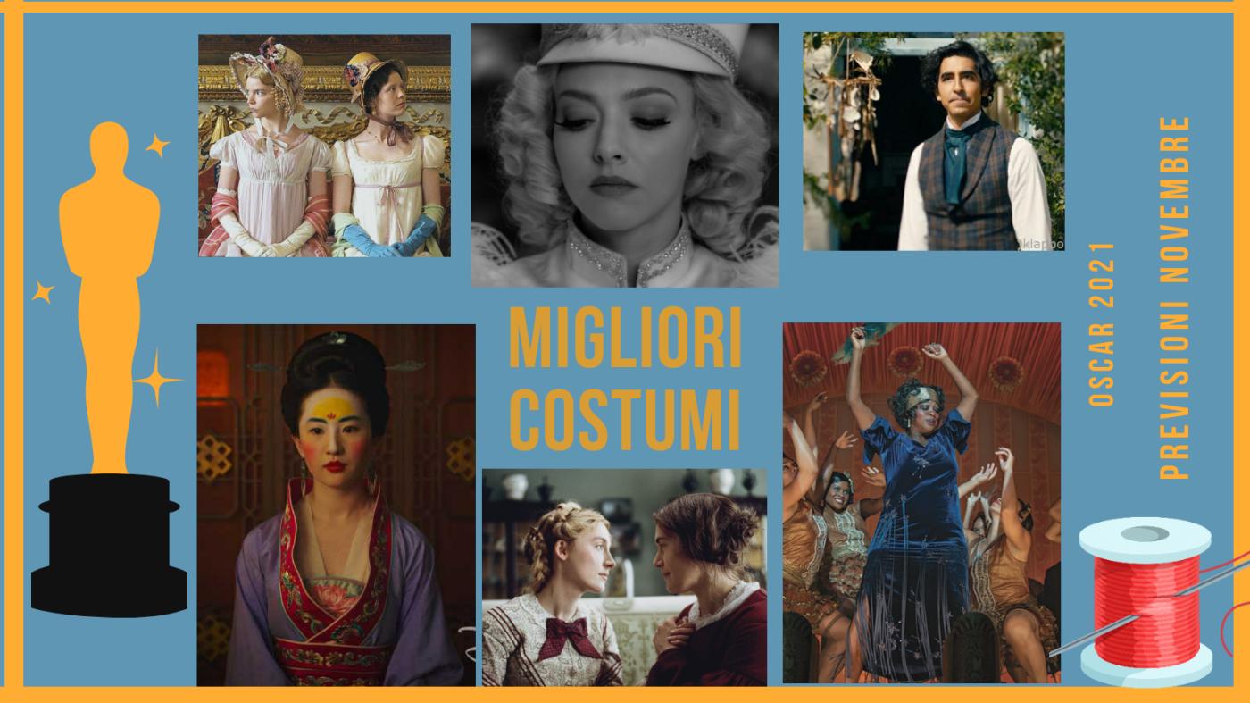 Oscar 2021: quali sono i 10 migliori costume designers da tenere d'occhio? (previsioni novembre)