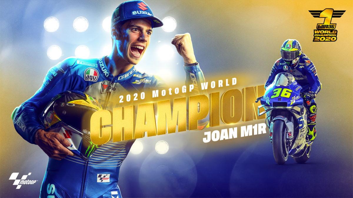 MotoGP, a Valencia vince Morbidelli e Mir diventa il nuovo campione del mondo