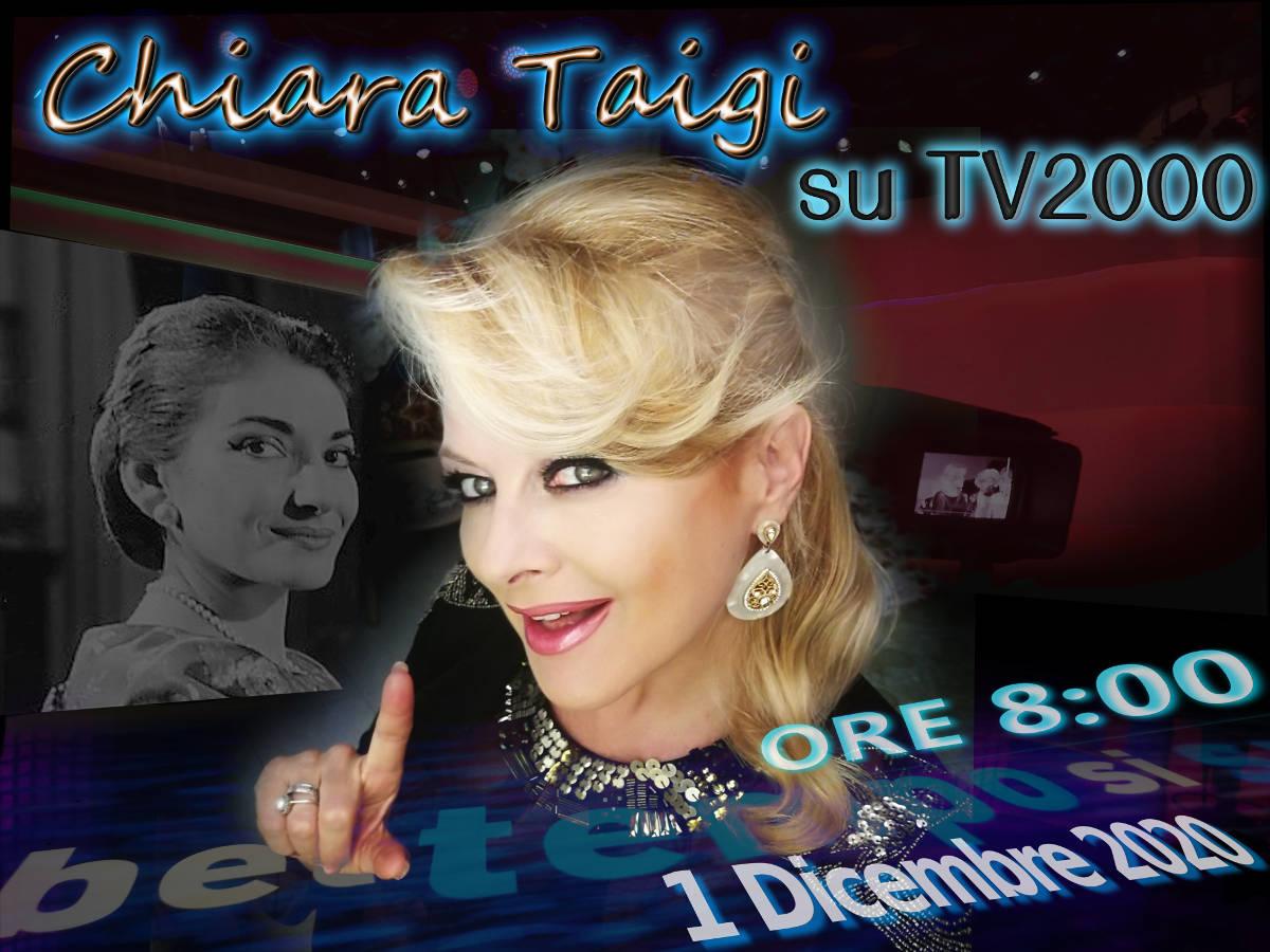 Chiara Taigi racconta Maria Callas su TV2000 - 1 dicembre 2020 Ore 8:00