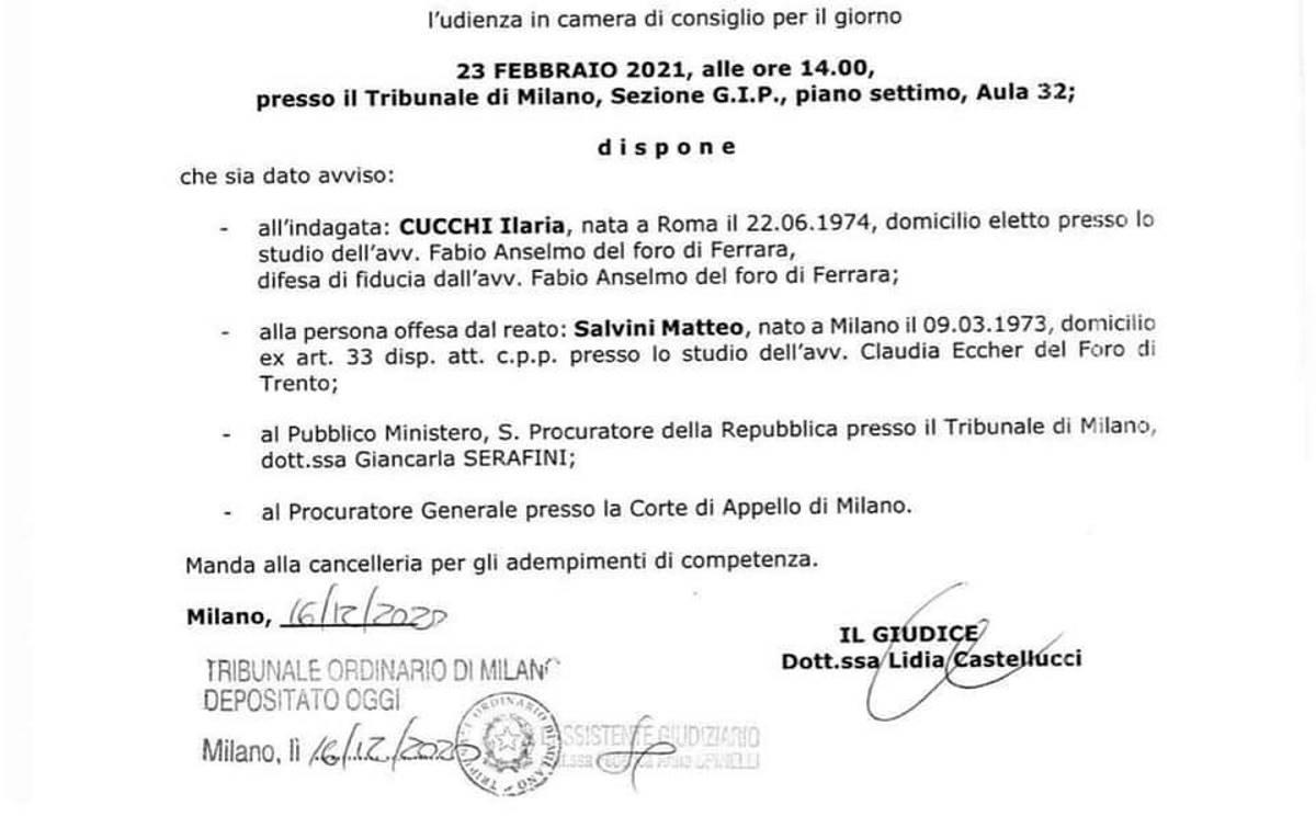 Per averlo definito sciacallo Salvini vuole mandare a processo Ilaria Cucchi