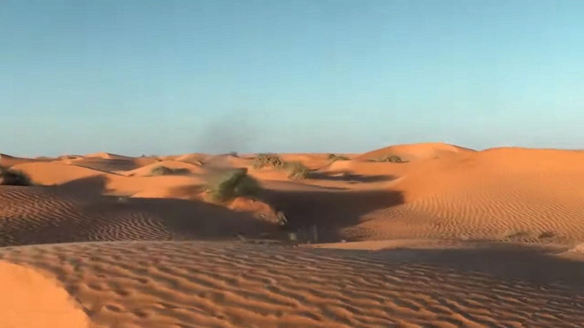 La mia prima volta nel deserto del Sahara