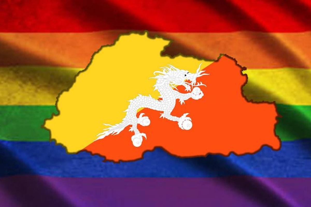 Il Bhutan legalizzerà i rapporti gay