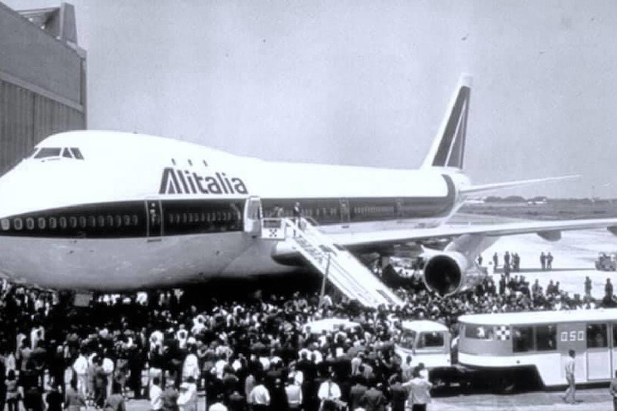 Alitalia, un racconto del passato