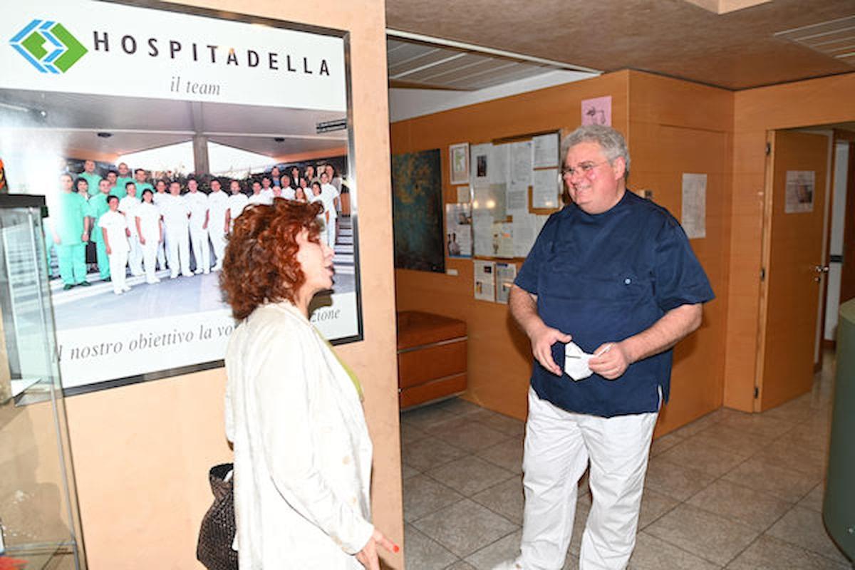 Alda D'Eusanio, un check up per essere in forma prima dell'ingresso al GF VIP