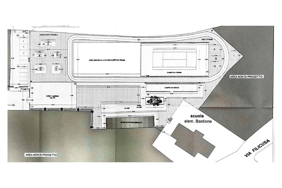 Milazzo (ME) - Approvata progettazione esecutiva Parco sportivo di Bastione