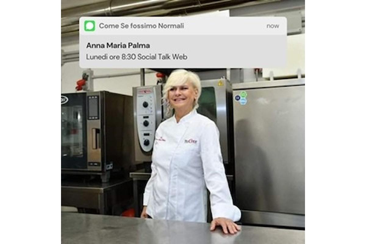 La passione per la cucina e l'amore per l'insegnamento