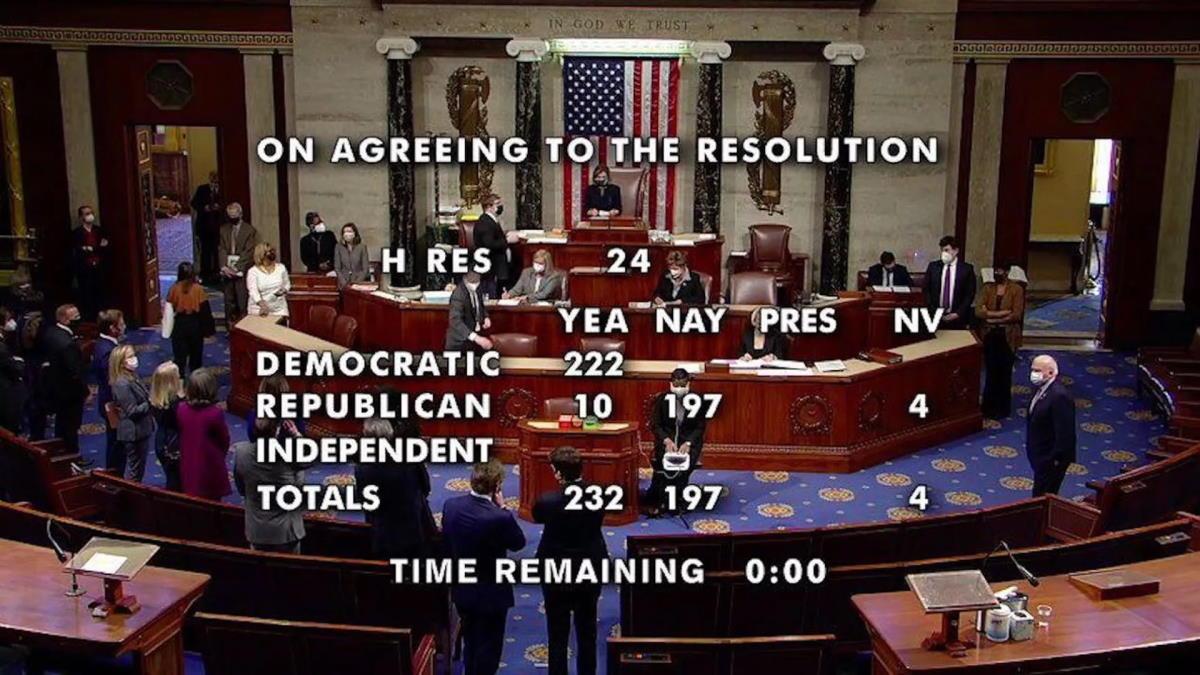 Dopo il sì della Camera sarà il Senato, dalla prossima settimana, a decidere sull'impeachment nei confronti di Trump