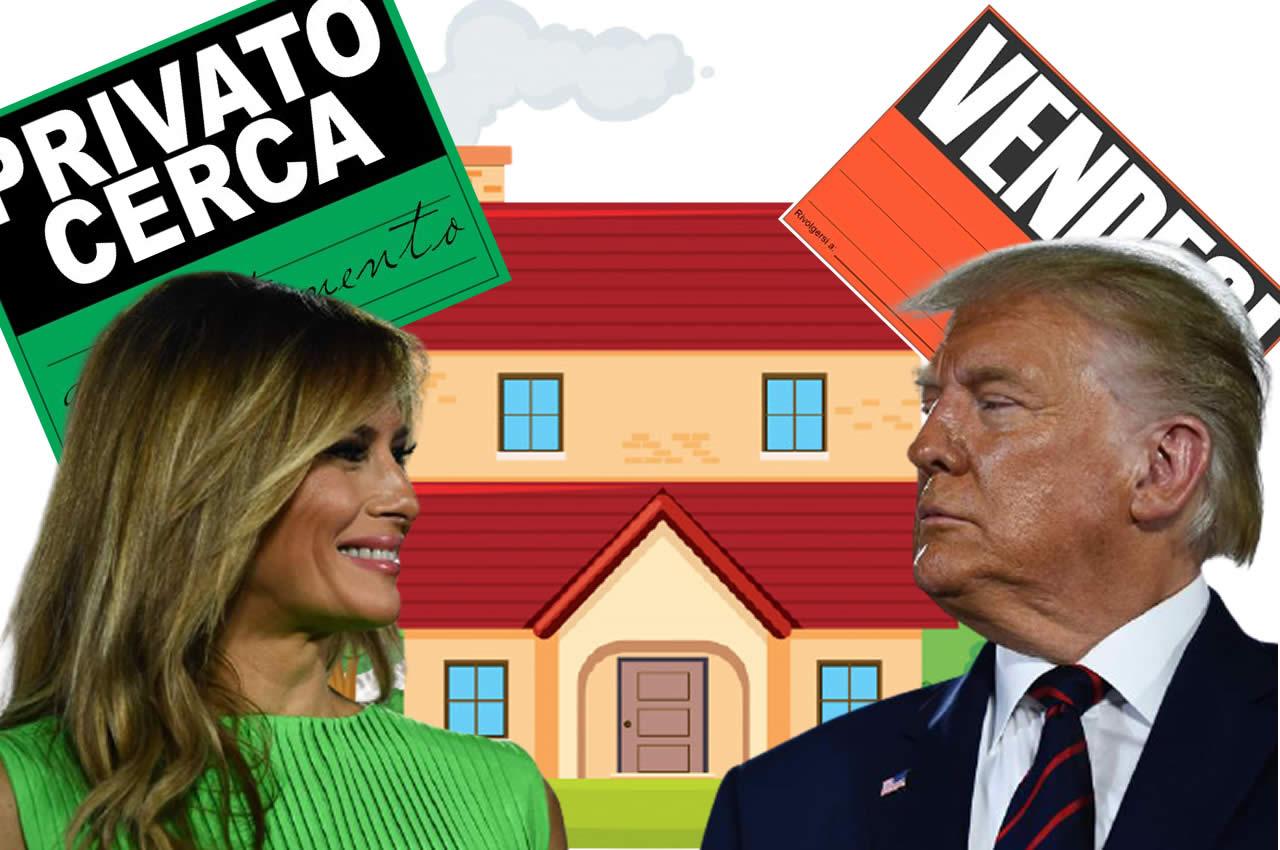 I Trump cercano casa disperatamente