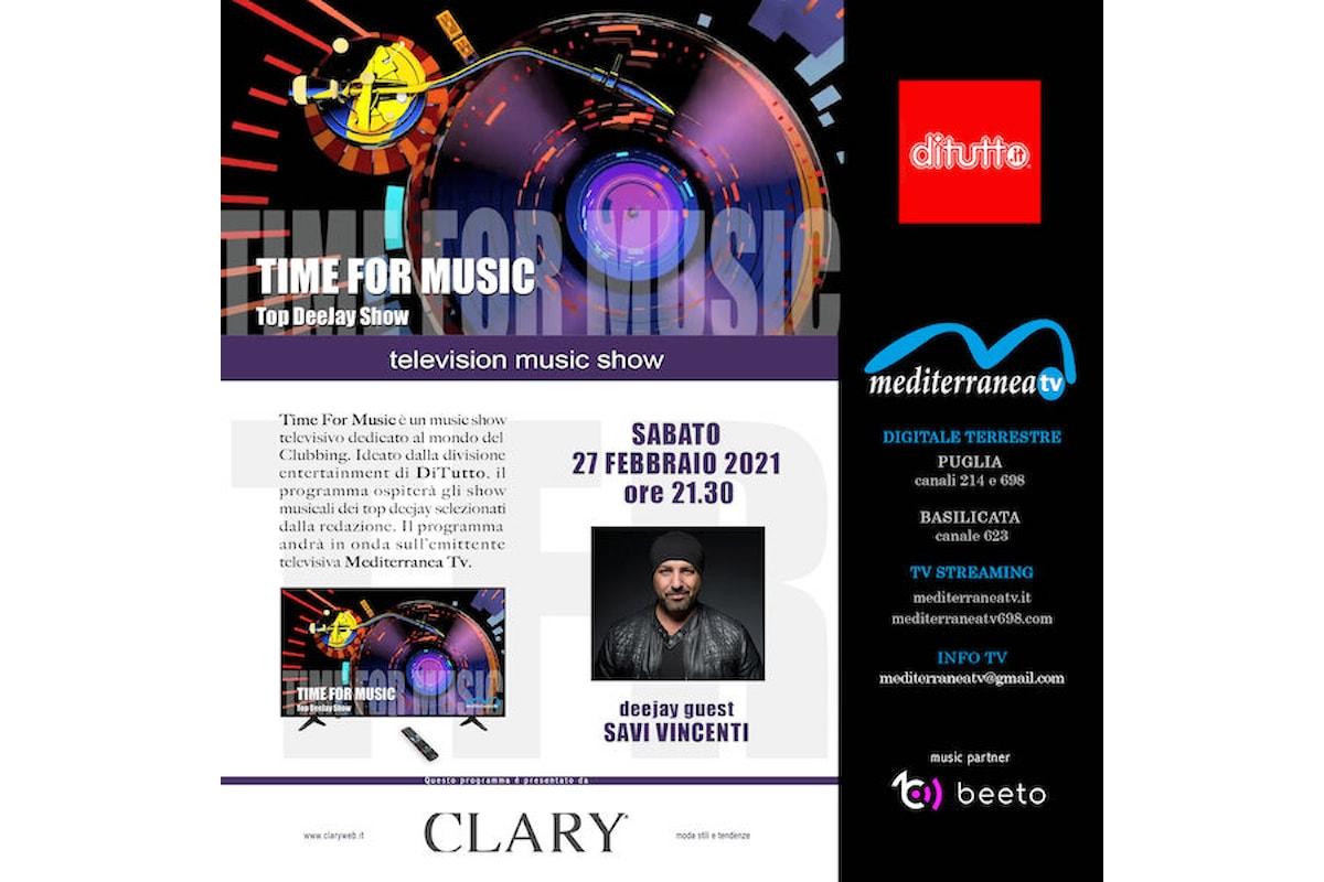 Time of Music, il nuovo music show firmato DiTutto arriva in televisione