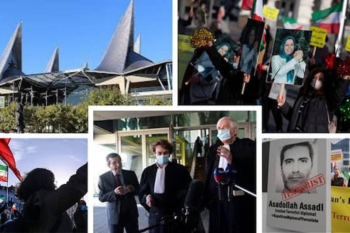 Assadi, diplomatico iraniano, condannato a 20 anni di prigione per complotto terroristico in Francia