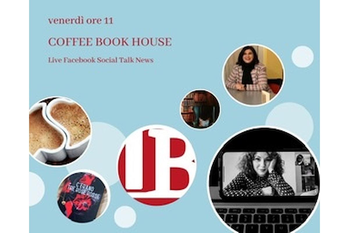 La prima ospite per un caffè offerto da Coffee Book House è Stefania P.Nosnan