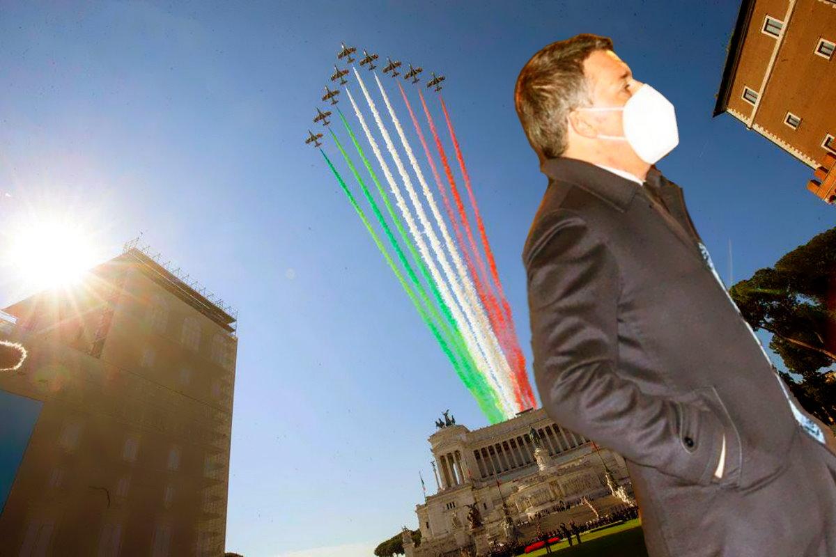 A sprezzo del ridicolo, ovvero la coerenza secondo Matteo Renzi e Italia Viva