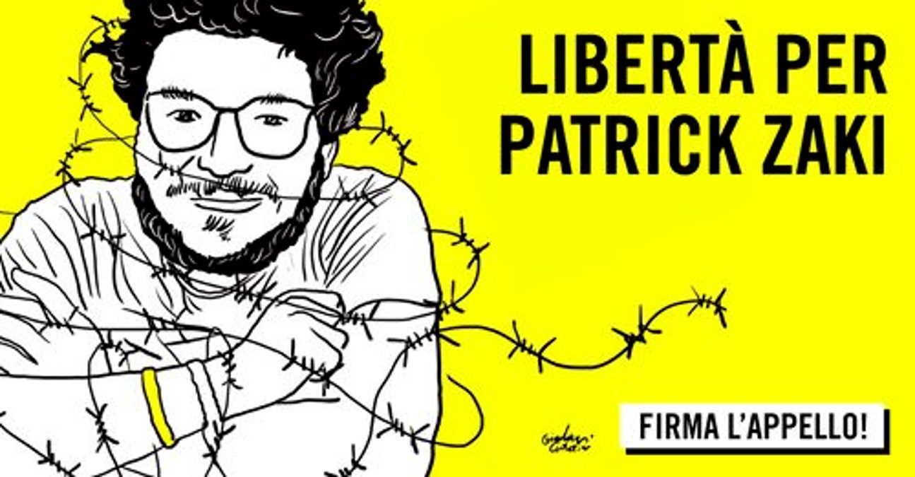 Oltre 100mila firme per la petizione che chiede la cittadinanza italiana per Patrick Zaki