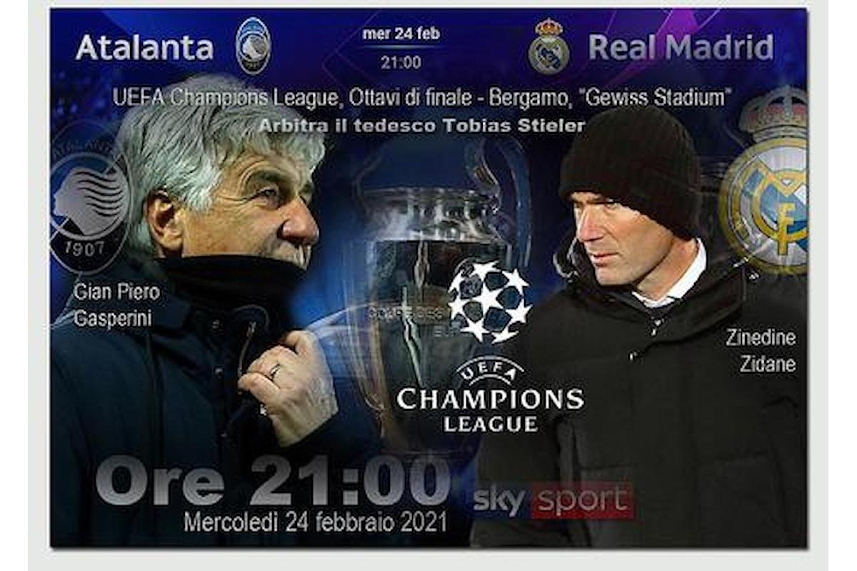 Atalanta spera contro il Real Madrid. Gasperini: La sfida un evento, noi abbiamo tanto entusiasmo