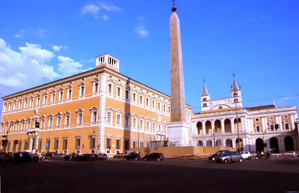 Papa Francesco apre il Palazzo del Laterano alle attività museali e culturali