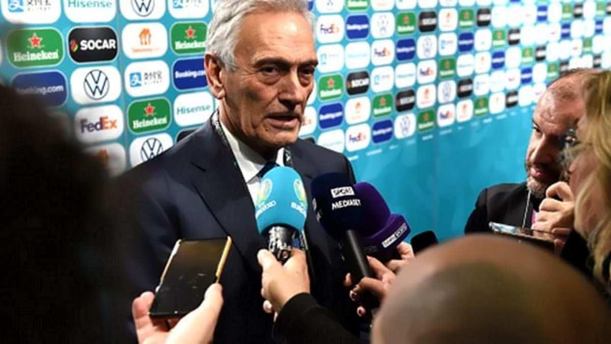 Euro 2021: Gravina spera di avere del pubblico in presenza per la gara inaugurale tra Italia e Turchia