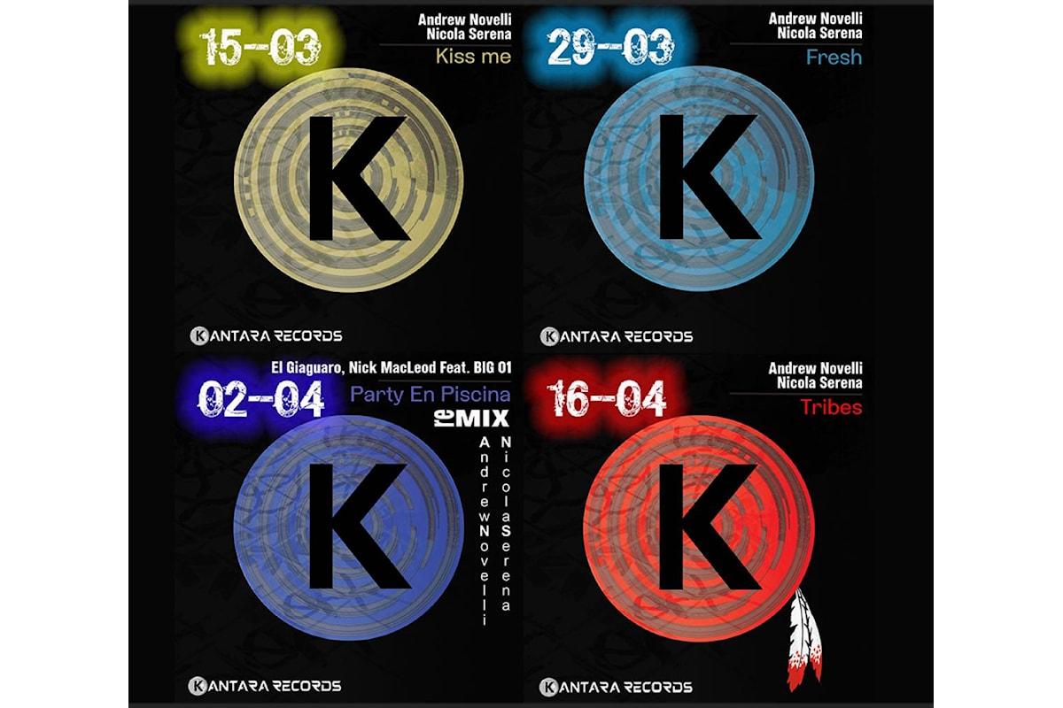 Kantara Records by Andrew Novelli & Nicola Serena: Jaywork Music Group dà il benvenuto ad una label nuova