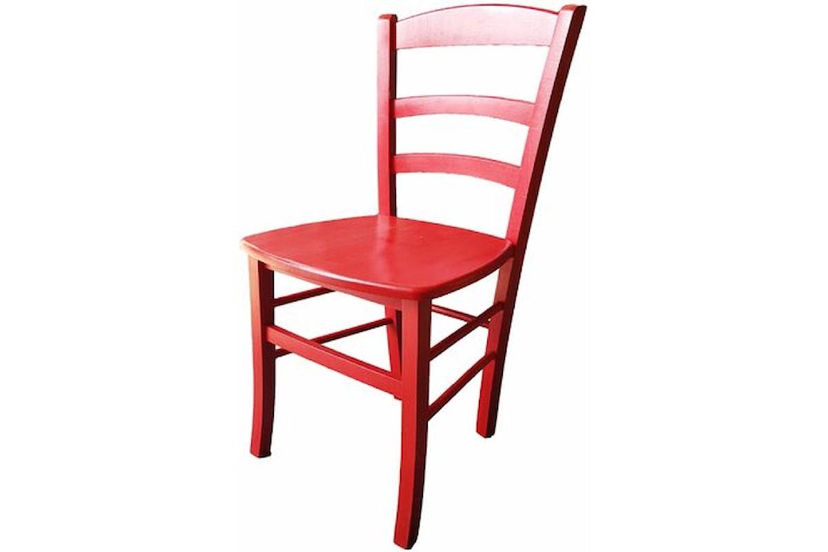 La sedia rossa II