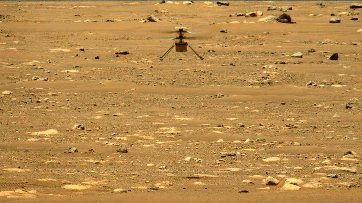 Ancora un successo per la seconda missione di Ingenuity su Marte