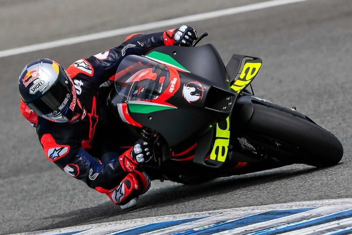 MotoGP: Dovizioso ha iniziato il test sull'Aprilia RS-GP 2021, sarà matrimonio?