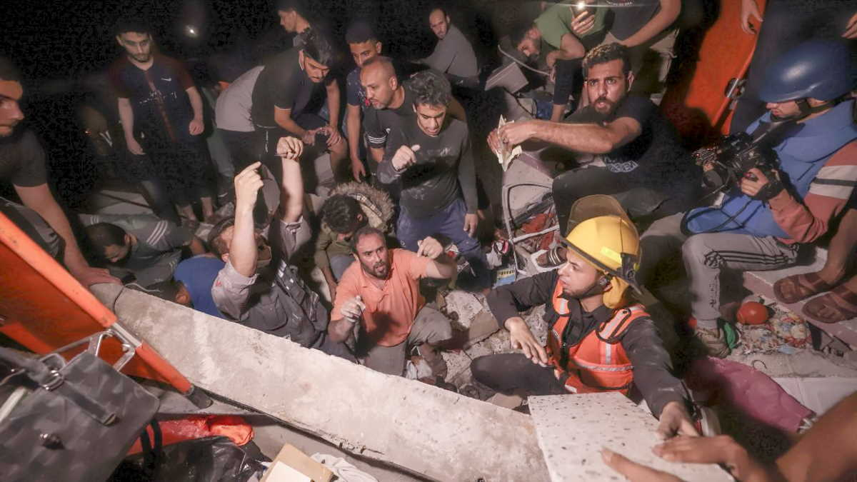 Si cerca di arrivare ad un cessate il fuoco tra Hamas e Israele