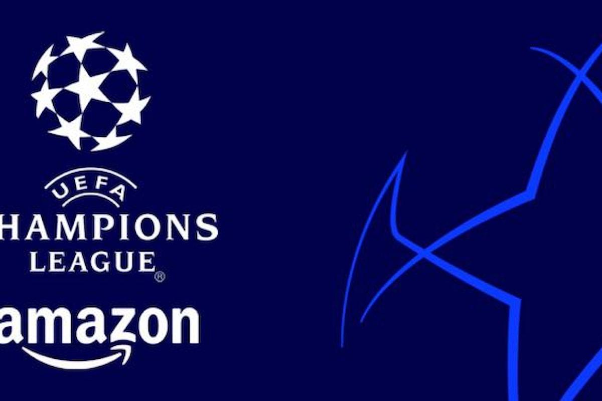 La prossima Champions League sarà inclusa nell'abbonamento Prime Video di Amazon senza costi aggiuntivi